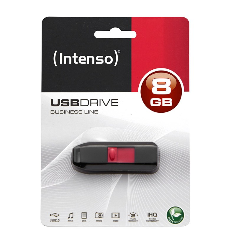 Pendrive 8GB Intenso Business line