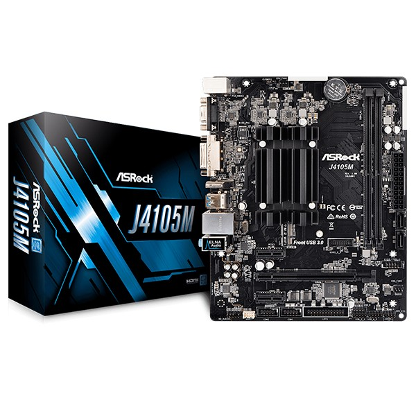 Placa Base ASRock J4105M mATX con CPU Integrada