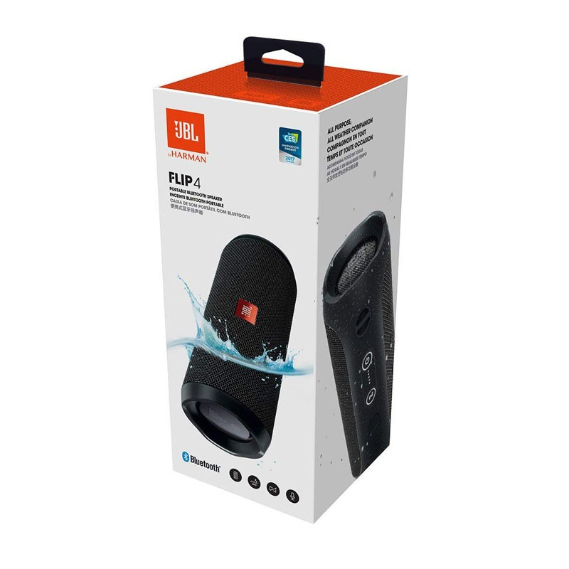 Altavoz Bluetooth JBL Flip 4 Negro