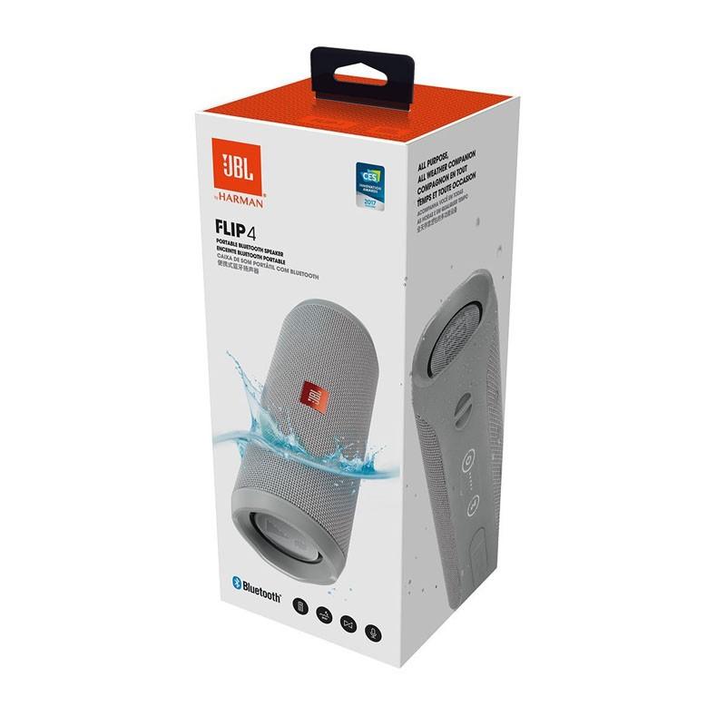 Altavoz Bluetooth JBL Flip 4 Gris