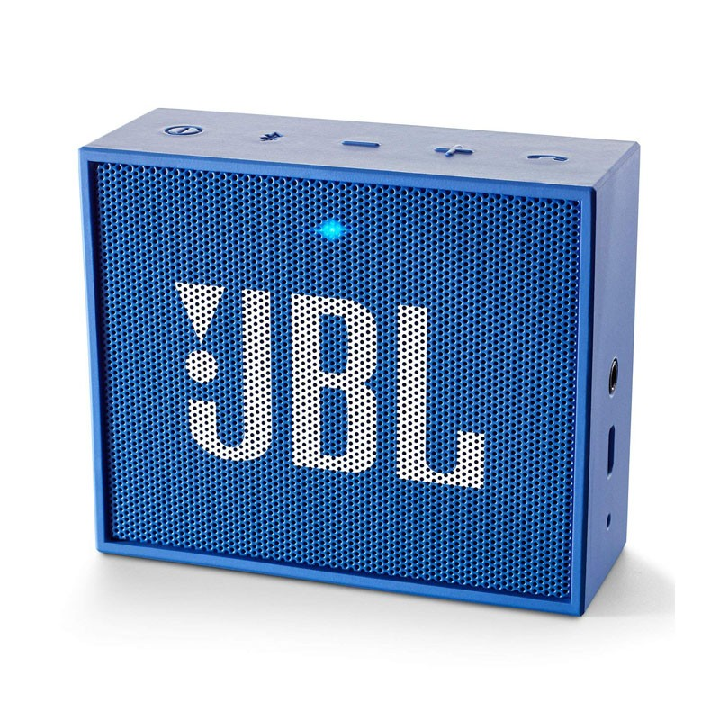 Altavoz bluetooth jbl go azul