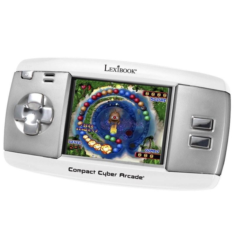 consola-portatil-lexibook-compact-cyber-arcade-250-juegos-blanco