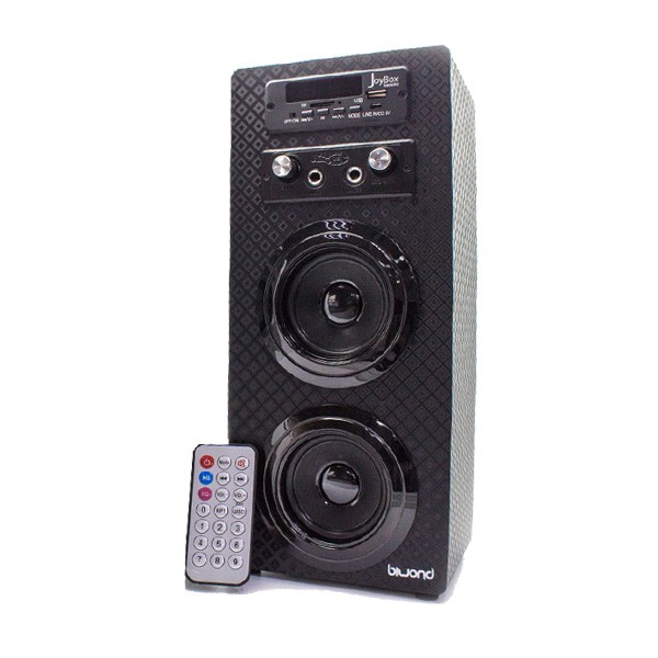 Reproductor de Musica Bluetooth Inalambrico con Karaoke Biwond Joybox Negro