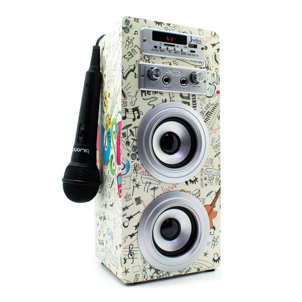 Reproductor de Musica Bluetooth Inalambrico con Karaoke Biwond Joybox Guitar