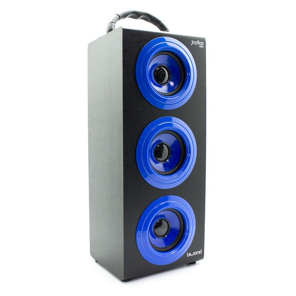 Reproductor de Musica Bluetooth Inalambrico Biwond Joybox NBX Azul