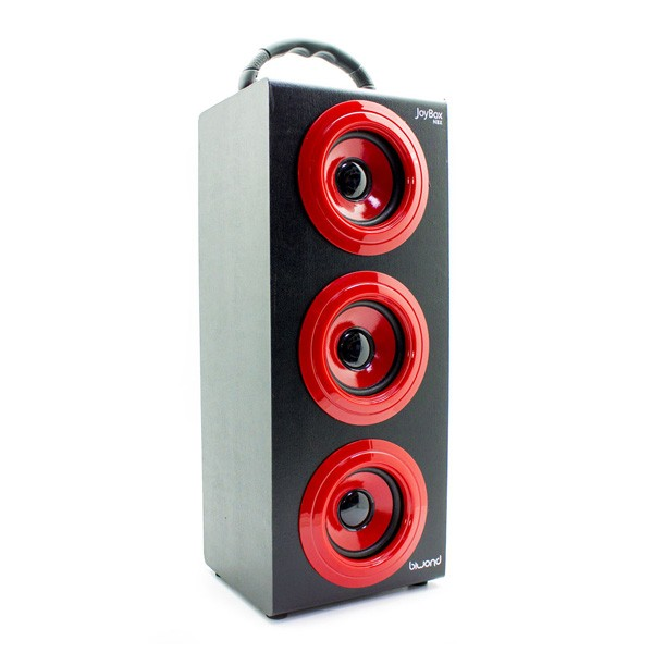 Reproductor de Musica Bluetooth Inalambrico Biwond Joybox NBX Rojo