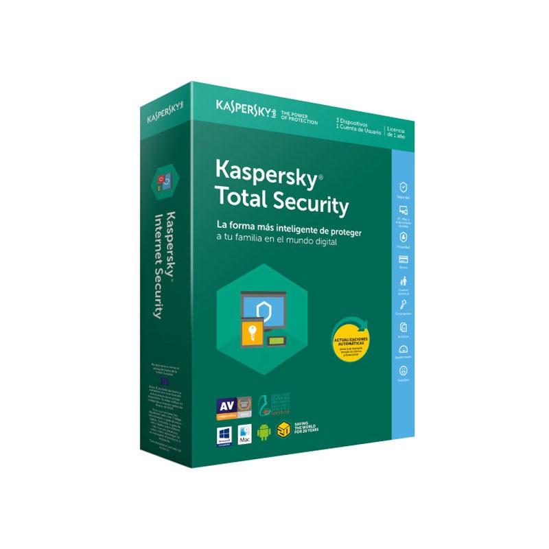 Kaspersky Lab Total Security 2018 3 Dispositivos