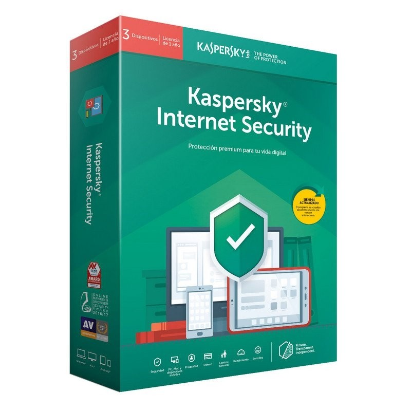 Kaspersky Internet Security 2019 3 Dispositivos