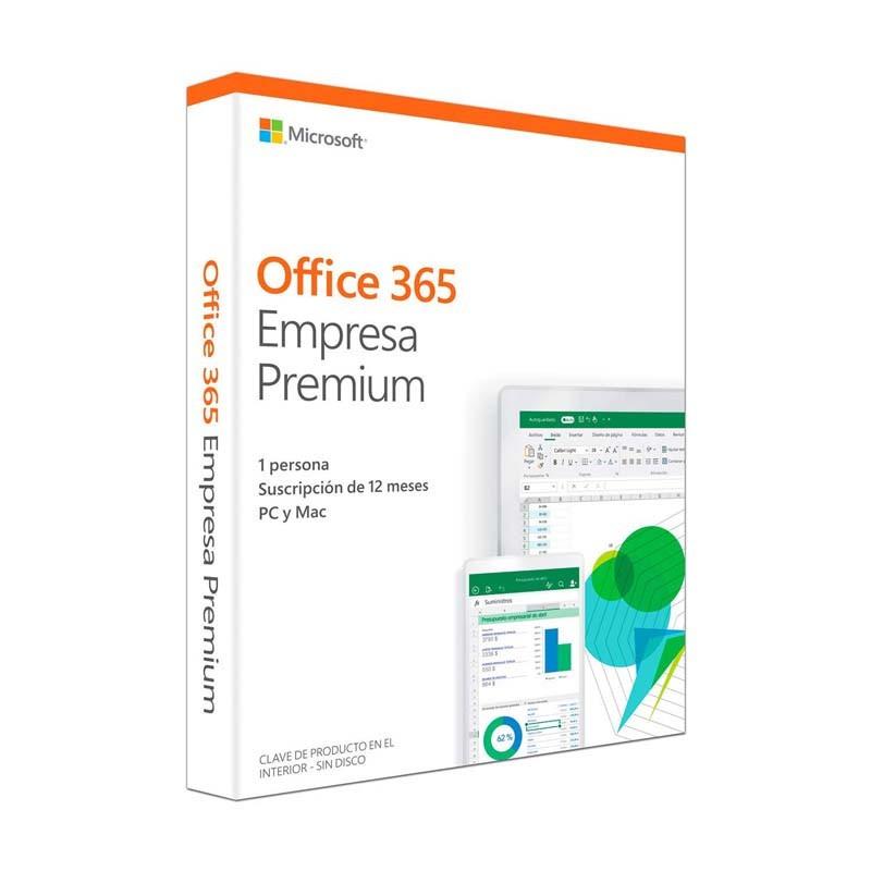 Office 365 Empresa Premium 2019 Anual 1 Licencia