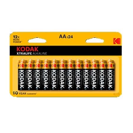 Pila Alcalina AA Kodak XtraLife Pack 24 uds (LR6)