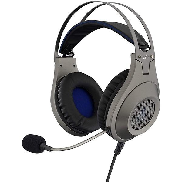 Auriculares con Micrófono The G-Lab KORP-Chromium Plata