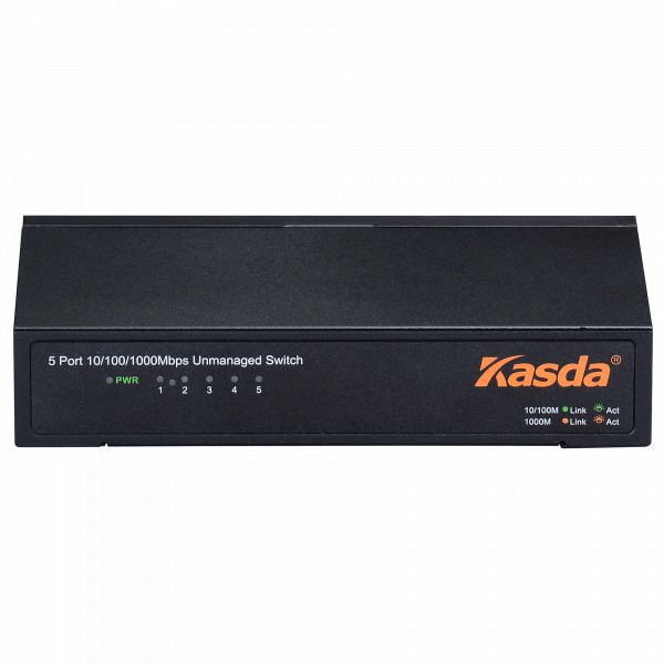 Switch 5 Puertos Kasda KS1005 10/100/1000Mbps