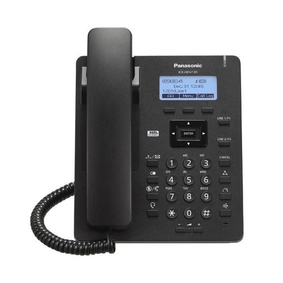 Terminal SIP Panasonic KX-HDV130NE Negro