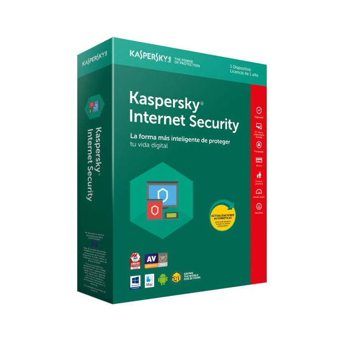 Kaspersky Lab Internet Security 2018 1 Dispositivo