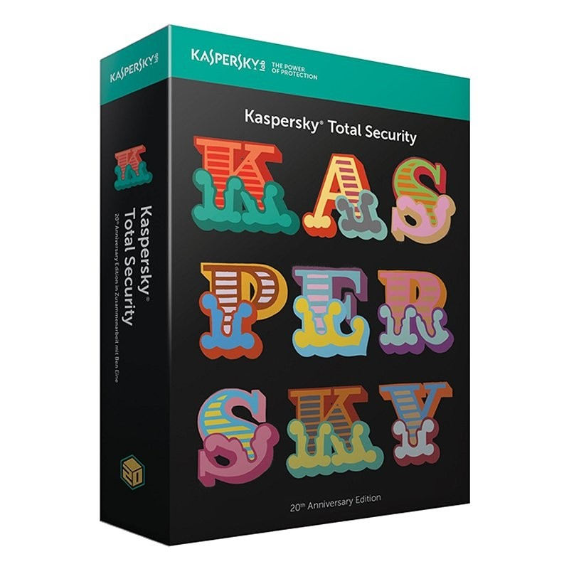 Kaspersky Lab Total Security 2018 2 Dispositivos
