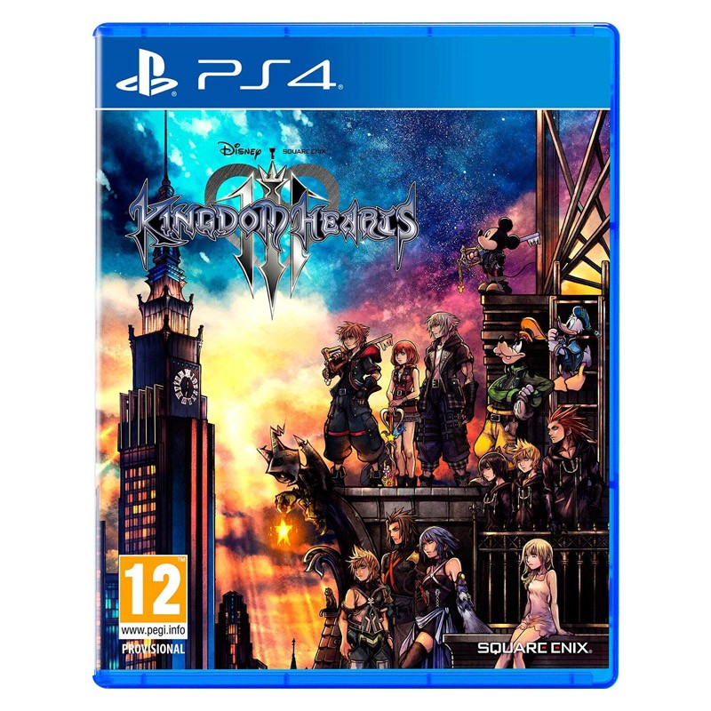 PS4 Juego Kingdom Hearts 3