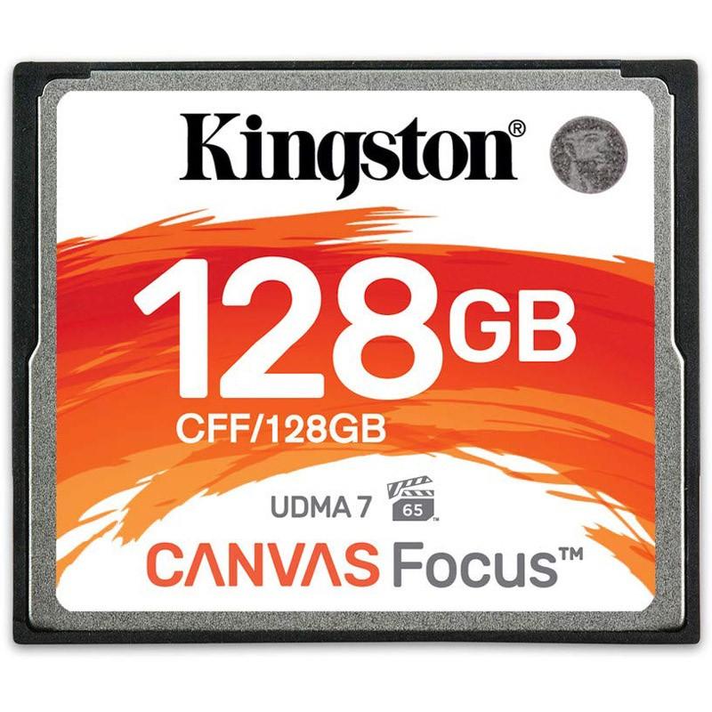 Kingston Canvas Focus Compact Flash CFF/128GB