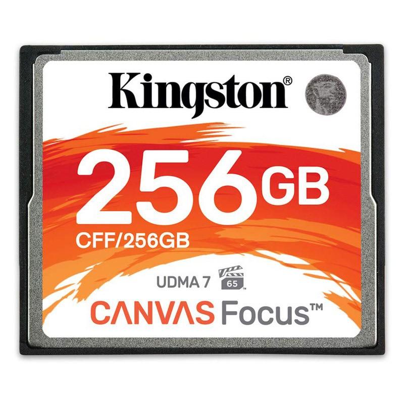 Kingston Canvas Focus Compact Flash CFF/256GB