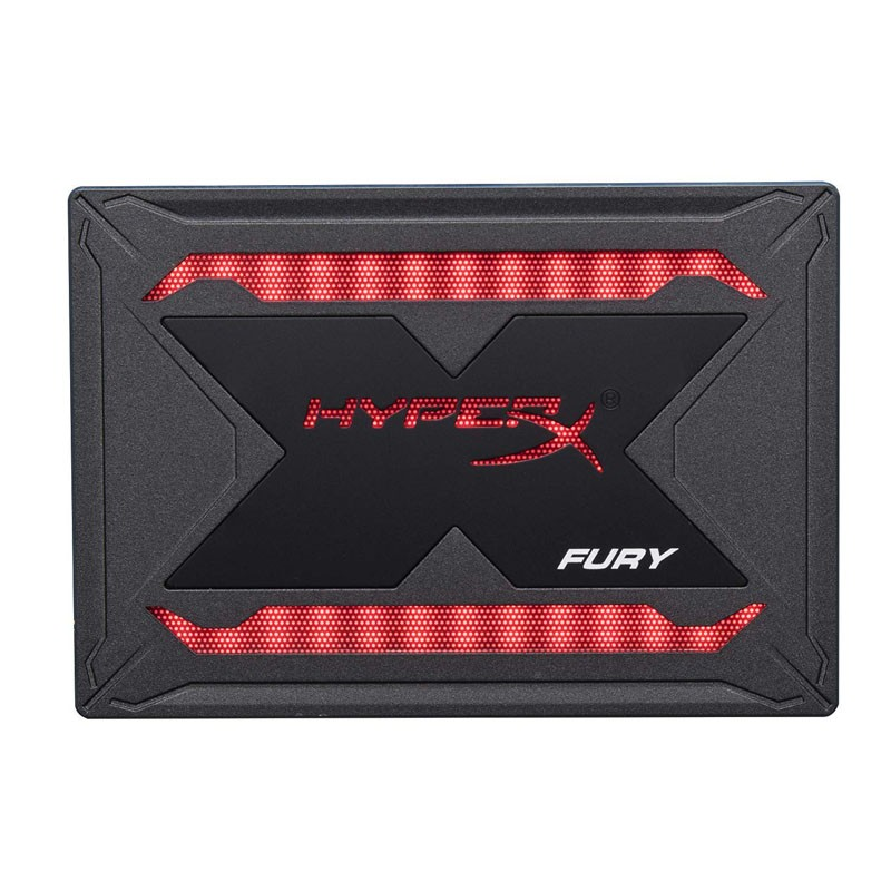 Disco duro ssd 480gb kingston hyperx fury rgb (kit de actualización)