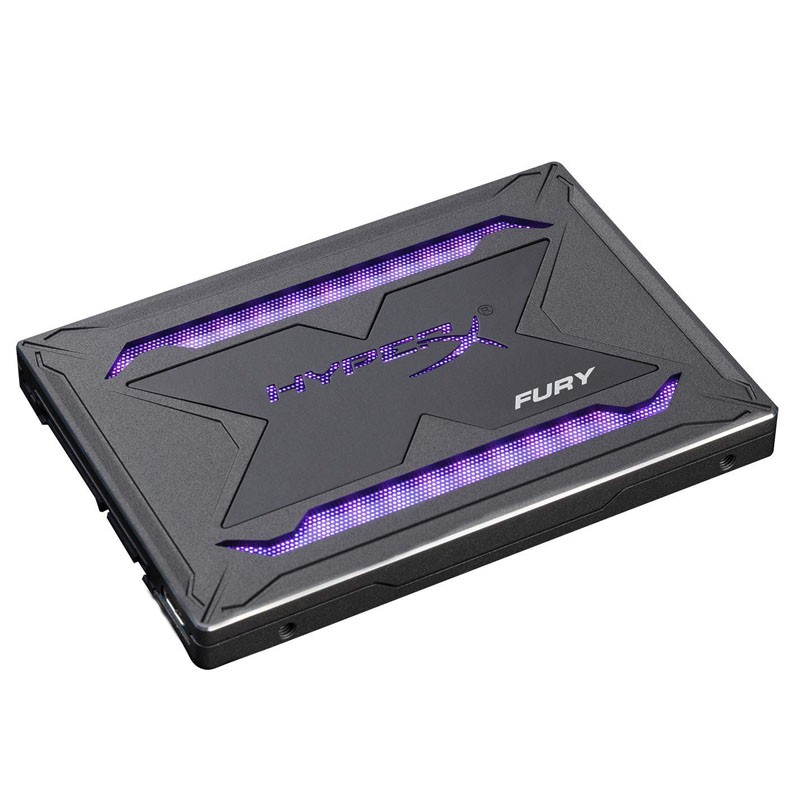 Disco Duro SSD 960GB Kingston HyperX Fury RGB