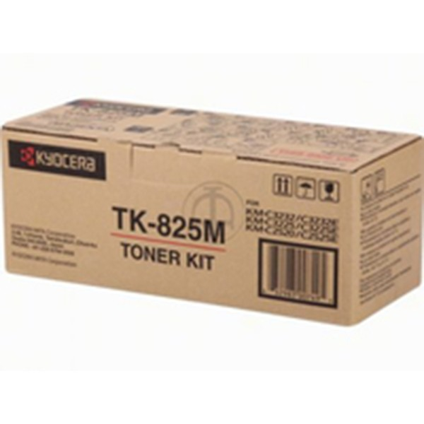 Kyocera TK 825M Kit de toner original Magenta
