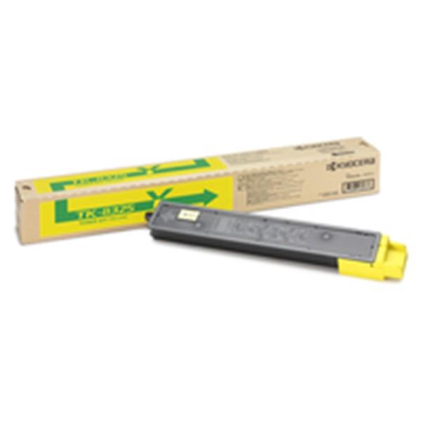 Kyocera tk 8325y cartucho de toner original amarillo