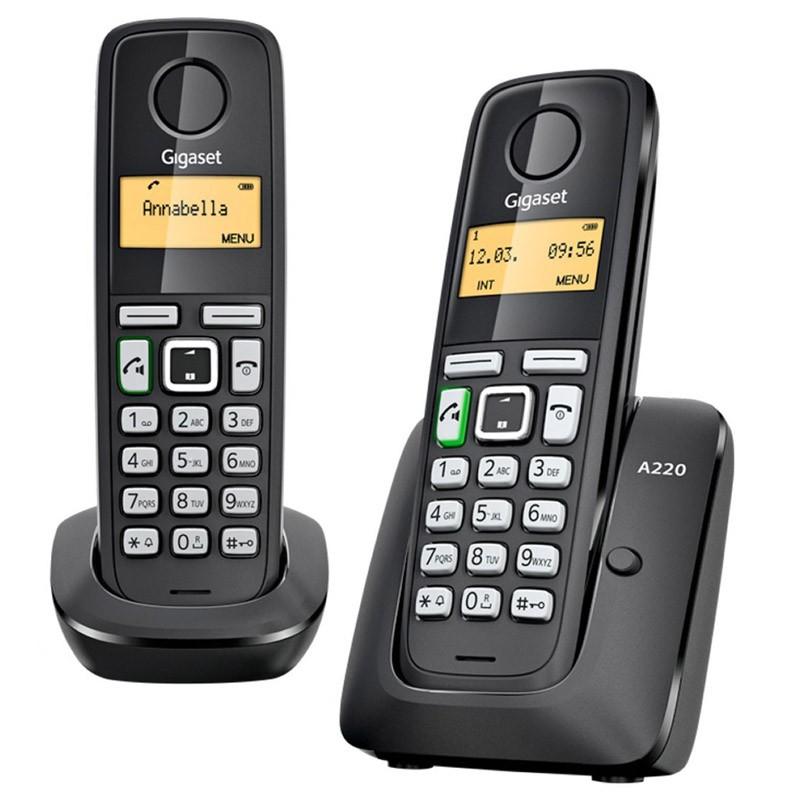 Telefono Inalambrico Siemens Gigaset A220 Duo