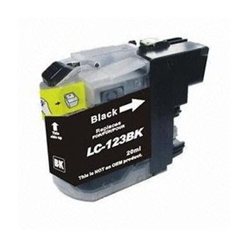 LC-123BK Cartucho de Tinta Compatible Premium (Negro)