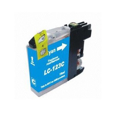 LC-123C Cartucho de Tinta Compatible Premium (Cian)
