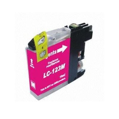 LC-123M Cartucho de Tinta Compatible Premium (Magenta)