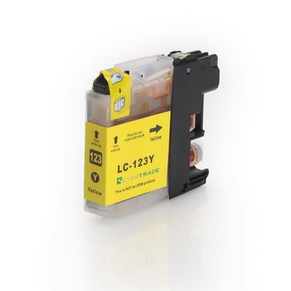LC-123Y Cartucho de Tinta Compatible Premium (Amarillo)
