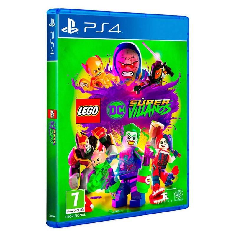 Nintendo Switch Juego Lego Dc Super Villanos El Lector