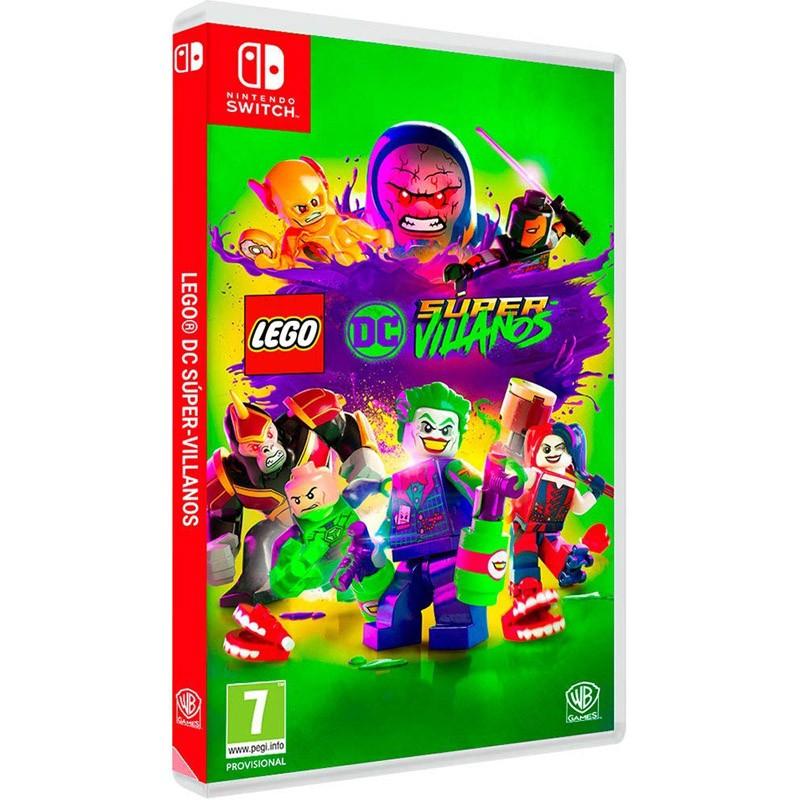 Nintendo switch juego lego dc super villanos