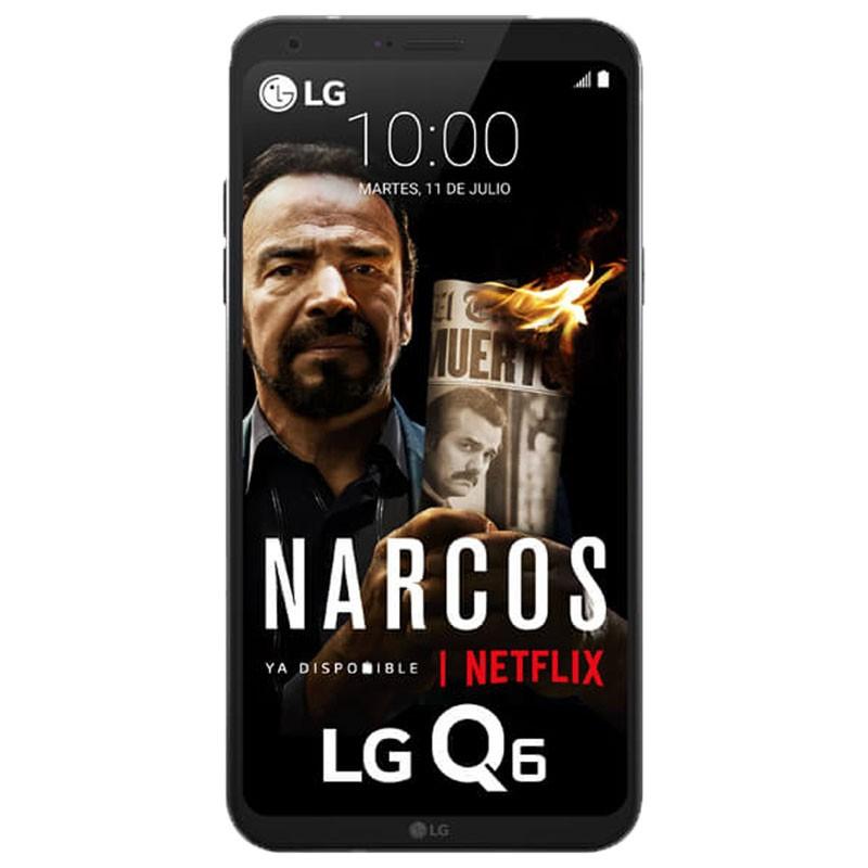 LG Q6 5.5 3GB 32GB Negro