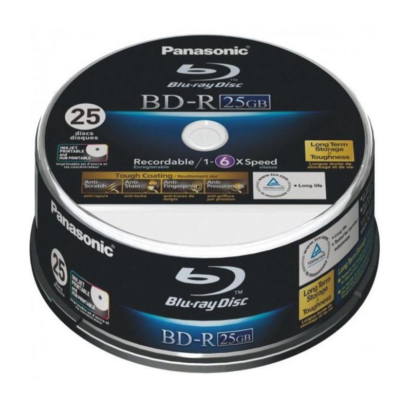 blu-ray-bd-r-sl-25gb-6x-panasonic-ff-inkjet-printable-tarrina-25-uds