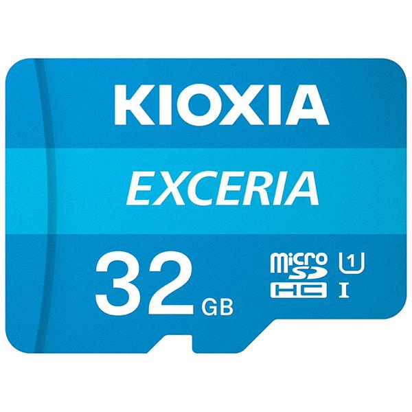 Tarjeta MicroSDHC 32GB Clase 10 UHS-I Kioxia Exceria c/Adaptador