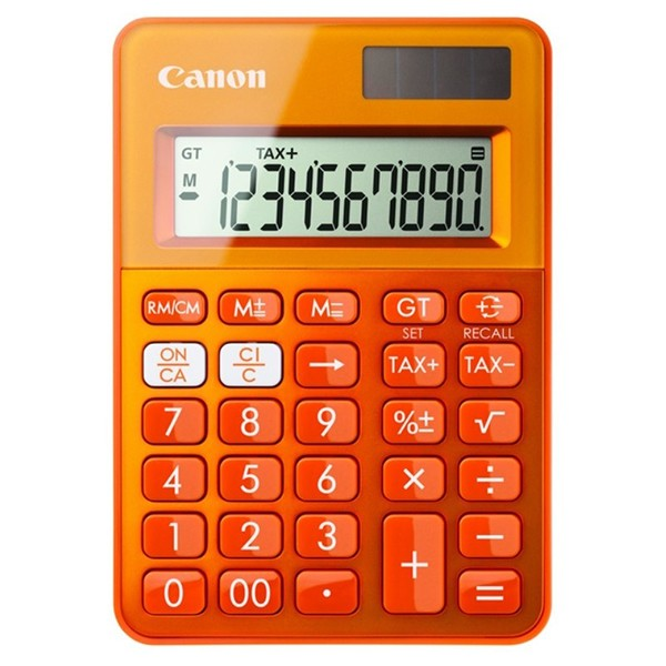 Calculadora Canon LS100K Naranja