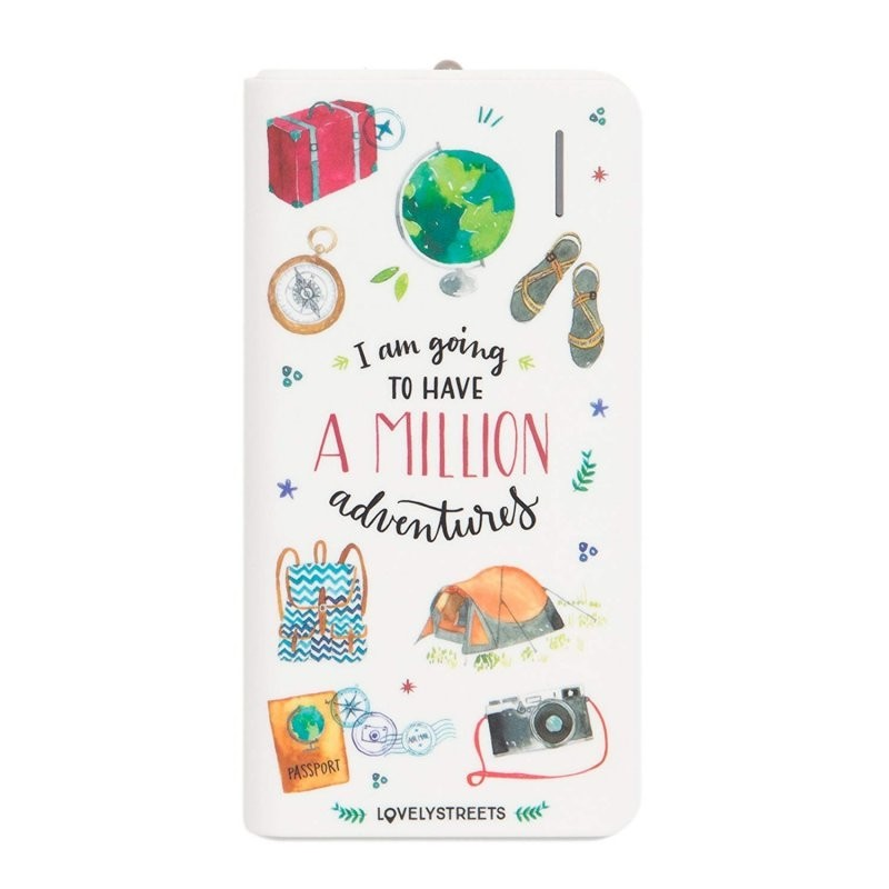 PowerBank Lovely Streets Aventuras 4.000mAh