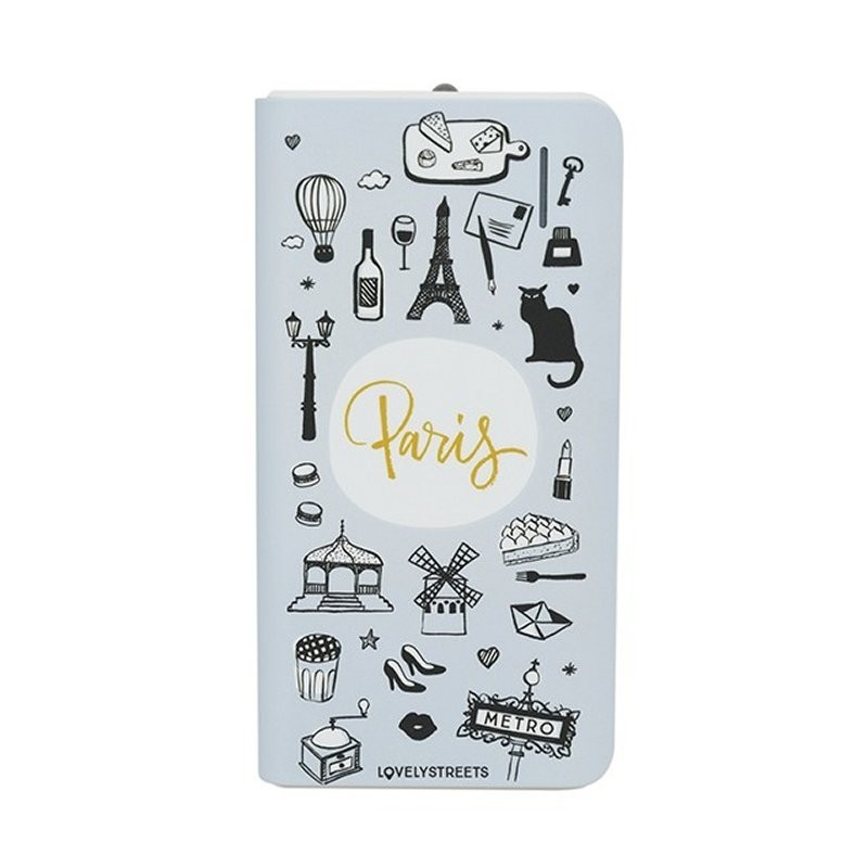 PowerBank Lovely Streets Paris Nuevo 4.000mAh