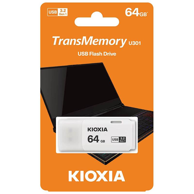 Pendrive 64GB Kioxia TransMemory U301 USB 3.2