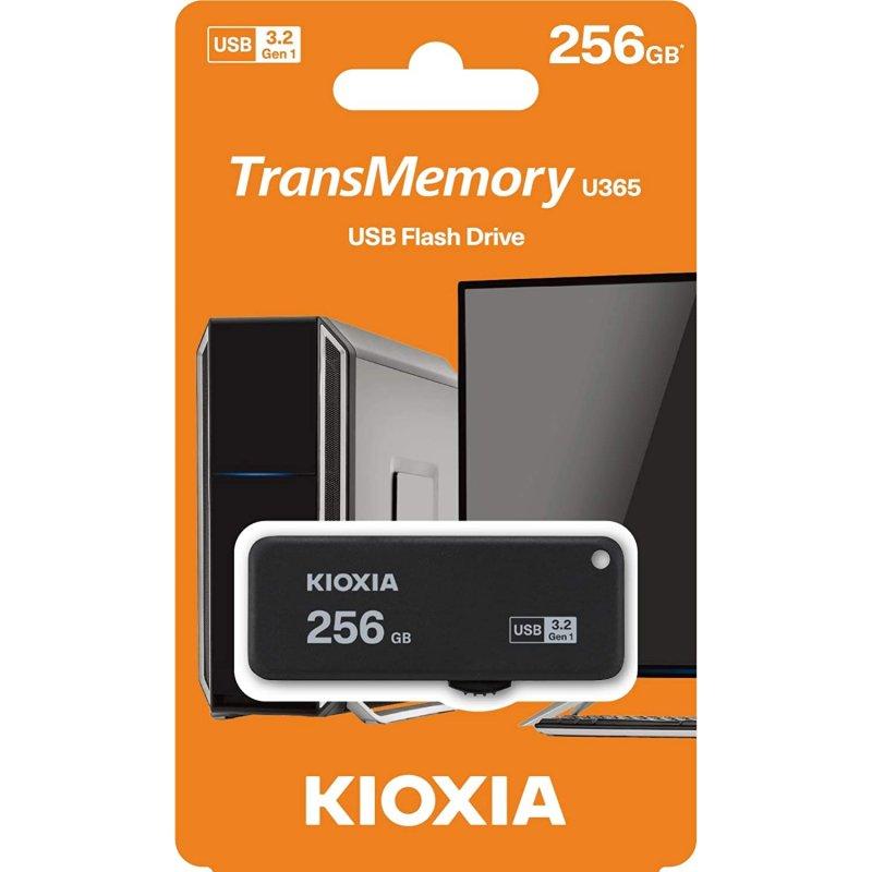 Pendrive 256GB Kioxia TransMemory U365 USB 3.2