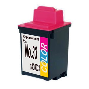 lexmark-no-33-color-cartucho-de-tinta-compatible