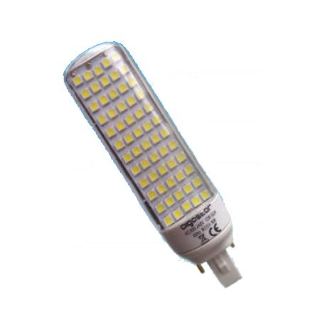 Lampara PLC LED 2PIN 12W 6400K G24