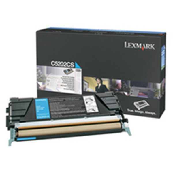 Lexmark C5220CS Cartucho de toner original Cian