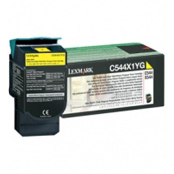 lexmark-c544x1yg-cartucho-de-toner-original-amarillo