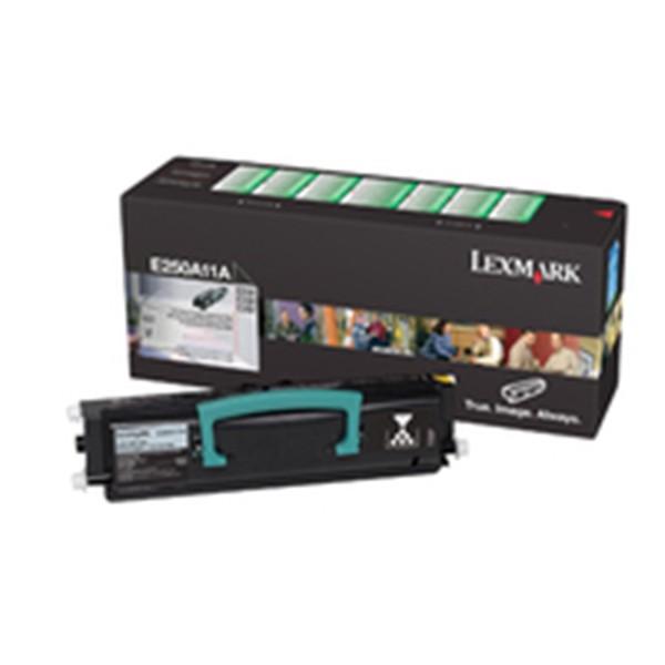Lexmark E250A11E Cartucho de toner original Negro