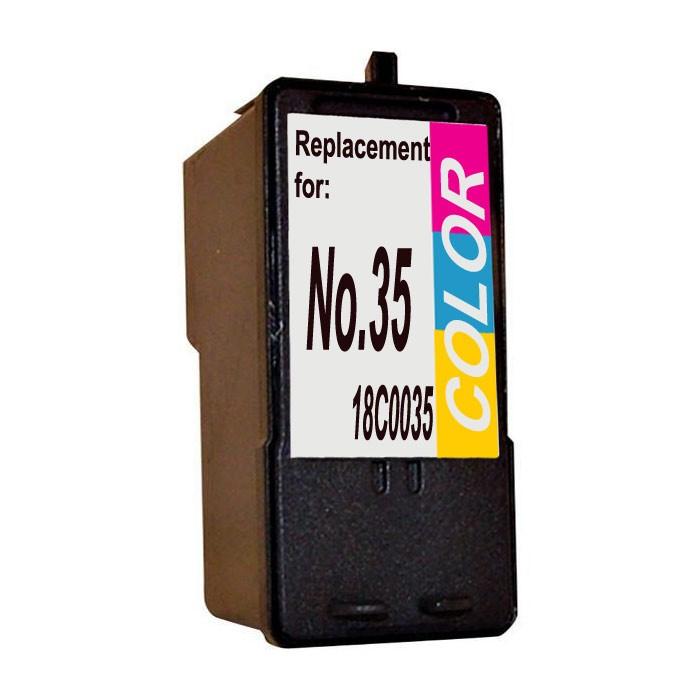 lexmark-no-35-color-cartucho-de-tinta-compatible