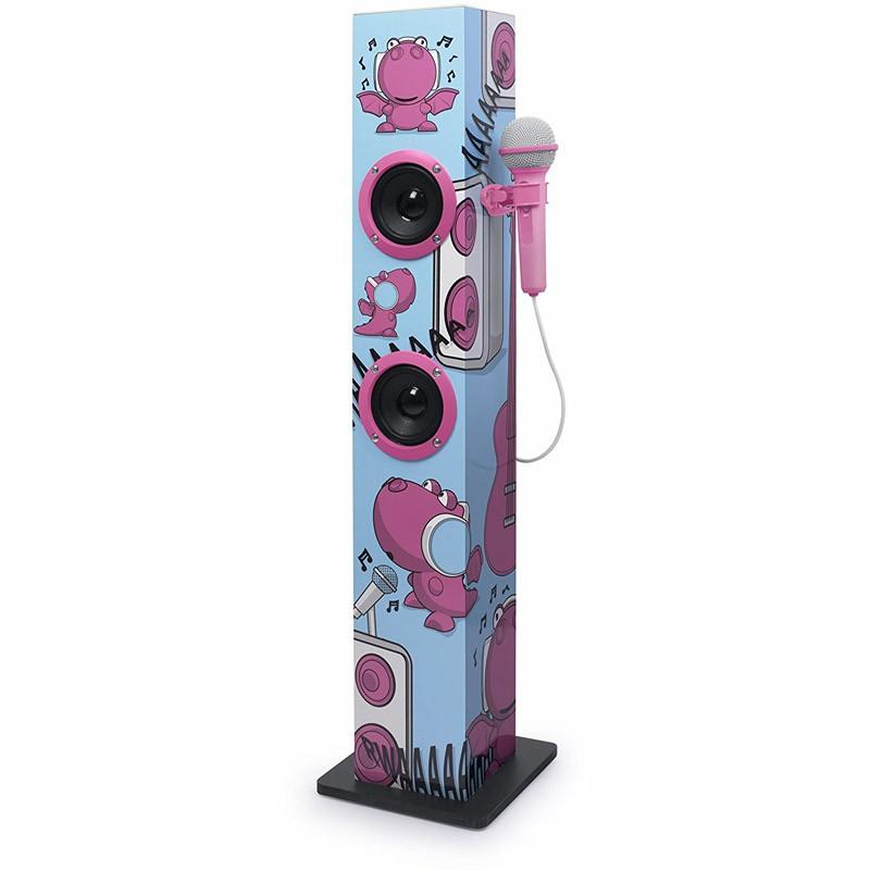 Torre de Sonido con Micrófono Muse M-1020 KDG