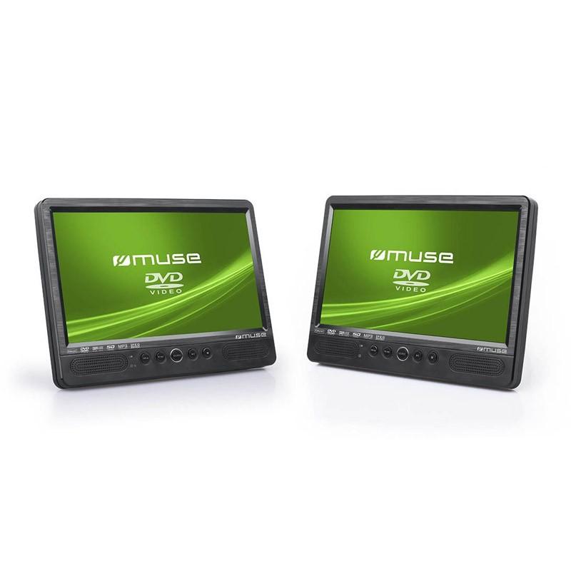 Reproductor DVD Portátil Muse M-1095 CVB - 2 Pantallas