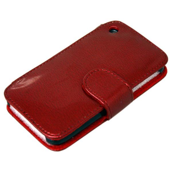 iPhone Funda de Cuero Rojo